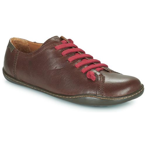 Zapatos Mujer Derbie Camper PEU CAMI Marrón