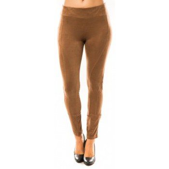 textil Mujer Leggings Sweet Company Pantalon Décontract Taupe Marrón