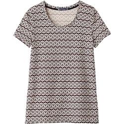 textil Mujer Camisetas manga corta Petit Bateau Tee Shirt MC 1062072220 Multicolor Multicolor