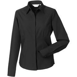 textil Mujer Camisas Russell 924F Negro