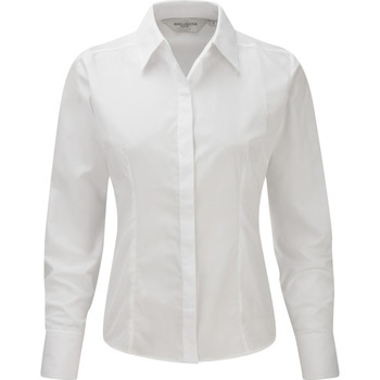 textil Mujer Camisas Russell 924F Blanco