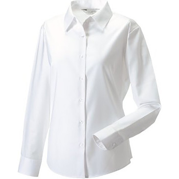 textil Mujer Camisas Russell 932F Blanco