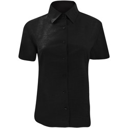 textil Mujer Camisas Russell 933F Negro