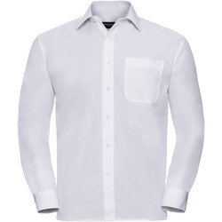 textil Hombre Camisas manga larga Russell 934M Blanco
