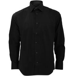 textil Hombre Camisas manga larga Russell 946M Negro