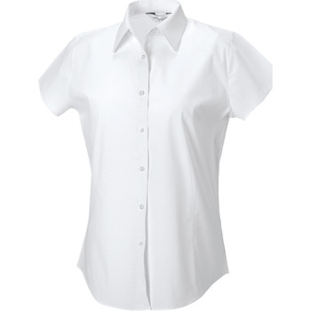 textil Mujer Camisas Russell 947F Blanco