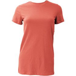 textil Mujer Camisetas manga corta Bella + Canvas BE6004 Coral