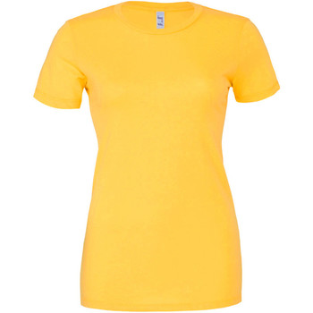 textil Mujer Camisetas manga corta Bella + Canvas BE6004 Amarillo