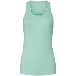 textil Mujer Camisetas sin mangas Bella + Canvas BE8800 Verde fluor