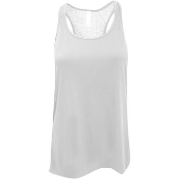 textil Mujer Camisetas sin mangas Bella + Canvas BE8800 Blanco