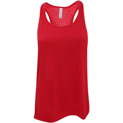 textil Mujer Camisetas sin mangas Bella + Canvas BE8800 Rojo