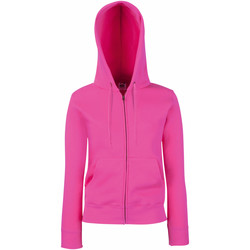 textil Mujer Sudaderas Fruit Of The Loom 62118 Fucsia