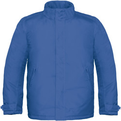 textil Hombre Cortaviento B And C Real+ Azul