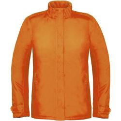 textil Mujer Cortaviento B And C Real+ Naranja