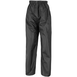 textil Hombre Pantalones de chándal Result R226X Negro