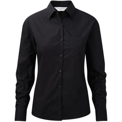 textil Mujer Camisas Russell Work Negro