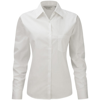textil Mujer Camisas Russell Work Blanco