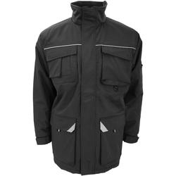 textil Hombre Abrigos Result R301X Negro