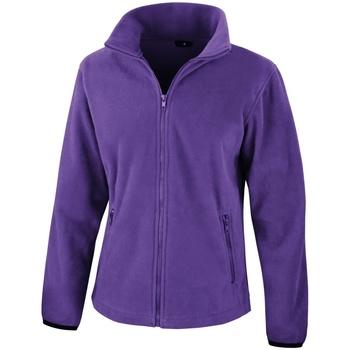 textil Mujer Polaire Result Core Púrpura