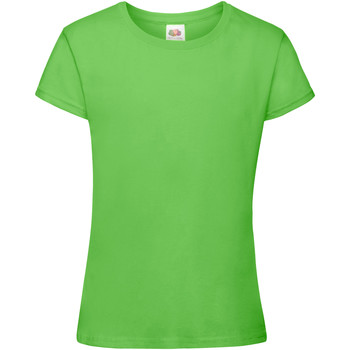 textil Niña Camisetas manga corta Fruit Of The Loom 61017 Lima