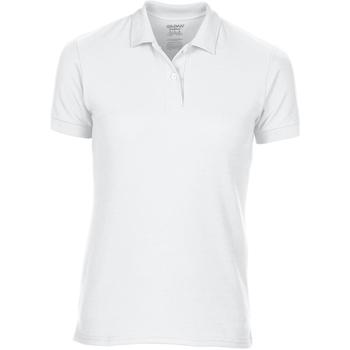 textil Mujer Polos manga corta Gildan 75800L Blanco