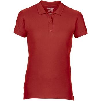 textil Mujer Polos manga corta Gildan 85800L Rojo