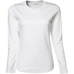textil Mujer Camisetas manga larga Tee Jays TJ590 Blanco