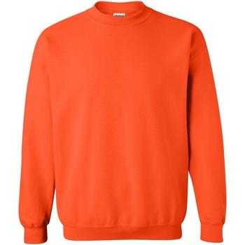 textil Sudaderas Gildan 18000 Naranja