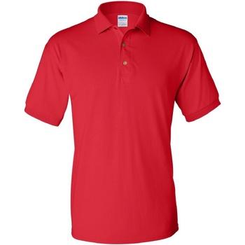 textil Hombre Polos manga corta Gildan 8800 Rojo