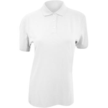 textil Mujer Polos manga corta Kustom Kit KK705 Blanco