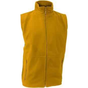 textil Hombre Chaquetas de punto Result R37X Amarillo