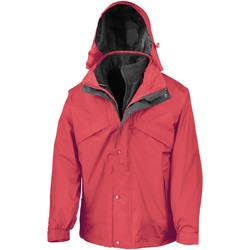 textil Hombre Cortaviento Result R68X Rojo