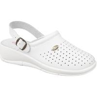 Zapatos Mujer Zuecos (Clogs) Dek Swivel Blanco