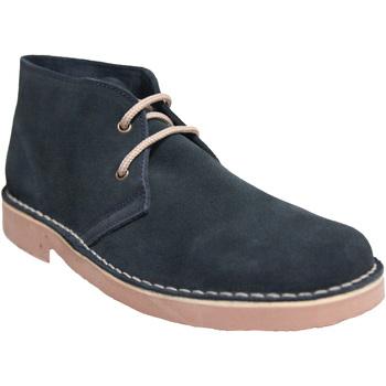 Zapatos Hombre Botas de caña baja Roamers  Azul real