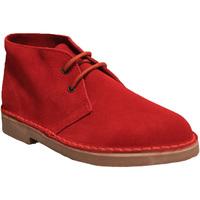 Zapatos Hombre Botas de caña baja Roamers  Rojo