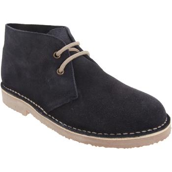 Zapatos Hombre Botas de caña baja Roamers  Azul marino