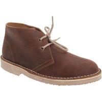 Zapatos Niño Botas de caña baja Roamers  Marrón