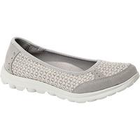 Zapatos Mujer Bailarinas-manoletinas Boulevard  Gris