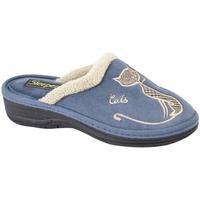 Zapatos Mujer Pantuflas Boulevard  Azul marino