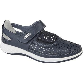 Zapatos Mujer Derbie Boulevard Wide Fit Azul Marino