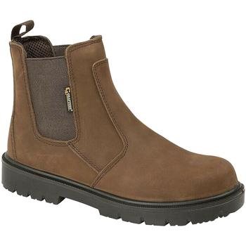 Zapatos Hombre Botas de caña baja Grafters  Marrón