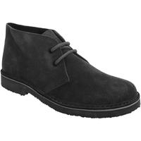 Zapatos Mujer Botas de caña baja Roamers Round Toe Negro
