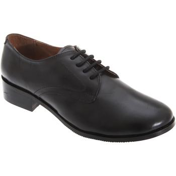 Zapatos Mujer Derbie Grafters  Negro