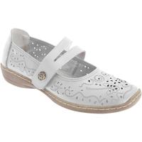Zapatos Mujer Bailarinas-manoletinas Boulevard  Blanco