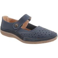 Zapatos Mujer Bailarinas-manoletinas Boulevard  Azul marino