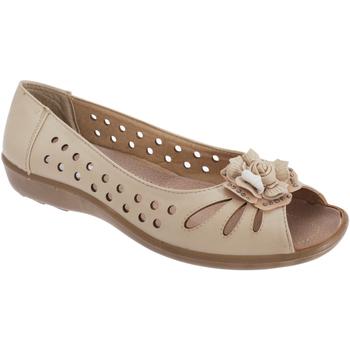 Zapatos Mujer Sandalias Boulevard  Beige
