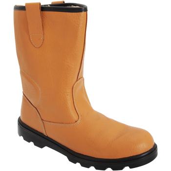 Zapatos Hombre zapatos de seguridad  Grafters  Marrón tostado