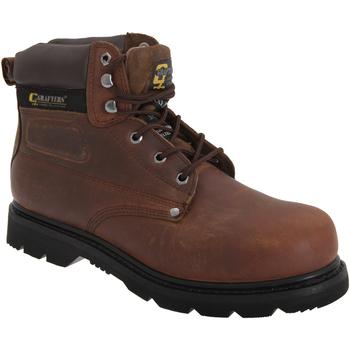 Zapatos Hombre zapatos de seguridad  Grafters  Marrón