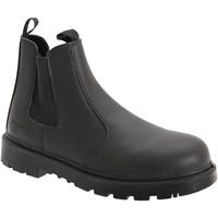 Zapatos Hombre Botas de caña baja Grafters  Negro