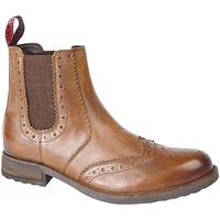 Zapatos Hombre Botas Roamers  Marrón tostado